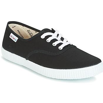 Čevlji  Nizke superge Victoria INGLESA LONA Črna