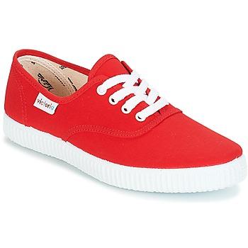 Čevlji  Nizke superge Victoria INGLESA LONA Rdeča