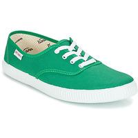 Čevlji  Nizke superge Victoria INGLESA LONA Zelena