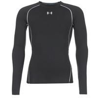 Oblačila Moški Majice z dolgimi rokavi Under Armour LS COMPRESSION Črna