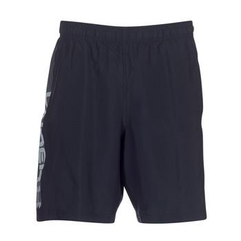 Oblačila Moški Kratke hlače & Bermuda Under Armour WOVEN GRAPHIC WORDMARK SHORT Črna