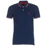 Oblačila Moški Polo majice kratki rokavi Selected SLHNEWSEASON Modra