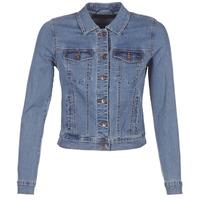 Oblačila Ženske Jeans jakne Vero Moda VMHOT SOYA Modra