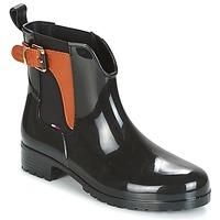 Čevlji  Ženske škornji za dež  Tommy Hilfiger OXLEY Črna