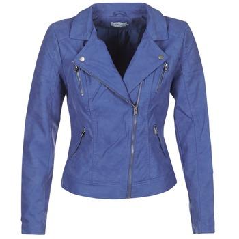 Oblačila Ženske Usnjene jakne & Sintetične jakne Only STEADY Modra