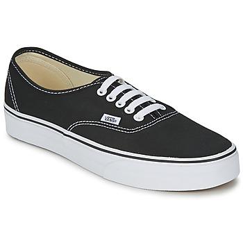 Čevlji  Nizke superge Vans AUTHENTIC Črna