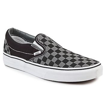 Čevlji  Slips on Vans CLASSIC SLIP-ON Črna / Siva