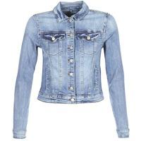 Oblačila Ženske Jeans jakne Vila VISHOW Modra