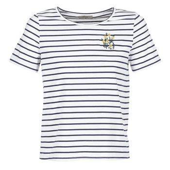 Oblačila Ženske Majice s kratkimi rokavi Betty London INNAMOU Bela