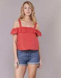 Oblačila Ženske Topi & Bluze Moony Mood IFARANDOL Rdeča