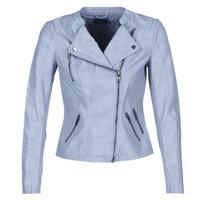Oblačila Ženske Usnjene jakne & Sintetične jakne Only AVA Modra