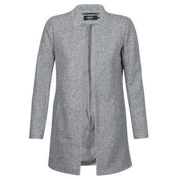 Oblačila Ženske Plašči Only SOHO Siva