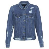 Oblačila Ženske Jeans jakne Only BECKY Modra
