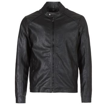 Oblačila Moški Usnjene jakne & Sintetične jakne Yurban IMIMID Črna