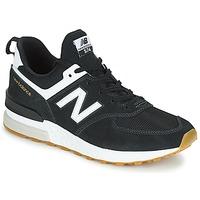 Čevlji  Moški Nizke superge New Balance MS574 Črna