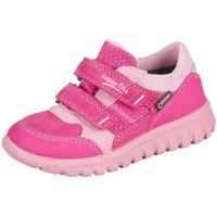 Čevlji  Otroci Nizke superge Superfit Sport Mini Pink Kombi Velour Tecno Textil Roza