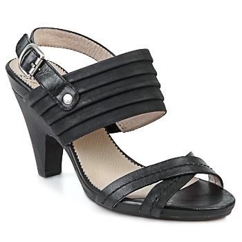 Čevlji  Ženske Sandali & Odprti čevlji Wonders BELTRAO Črna