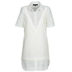 Oblačila Ženske Kratke obleke American Retro CHARLOTTE Bela