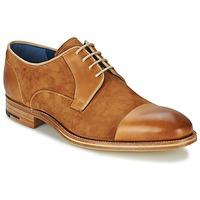 Čevlji  Moški Čevlji Derby Barker BUTLER Kostanjeva