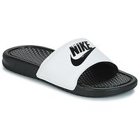 Čevlji  Moški Natikači Nike BENASSI JUST DO IT Bela / Črna