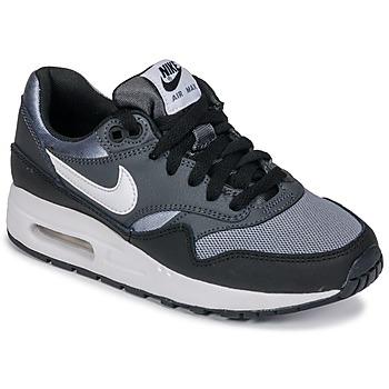 Čevlji  Dečki Nizke superge Nike AIR MAX 1 GRADE SCHOOL Črna / Siva