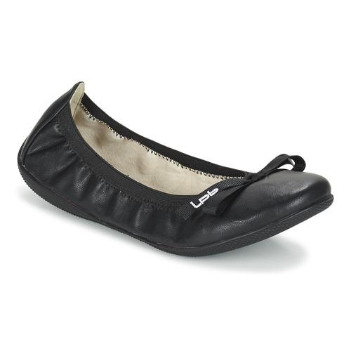 Čevlji  Ženske Balerinke LPB Shoes ELLA Črna