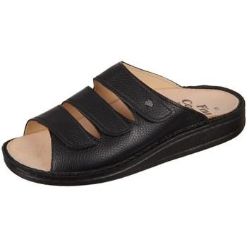 Čevlji  Moški Natikači Finn Comfort Korfu Bison Črna