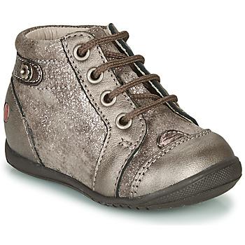 Čevlji  Deklice Visoke superge GBB NICOLE Taupe