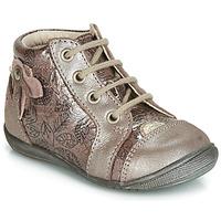 Čevlji  Deklice Visoke superge GBB NICOLE Vtv / Rose+impr / Dpf / Kezia