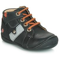 Čevlji  Dečki Visoke superge GBB REGIS Črna / Oranžna