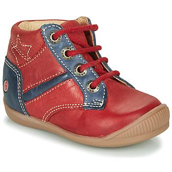 Čevlji  Dečki Visoke superge GBB RATON Rdeča