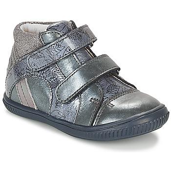 Čevlji  Deklice Visoke superge GBB ROXANE Modra / Siva