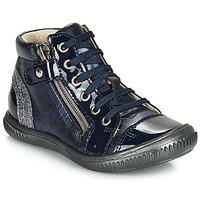 Čevlji  Deklice Visoke superge GBB RACHIDA Modra