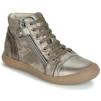 Čevlji  Deklice Visoke superge GBB RACHIDA Taupe / Bronze