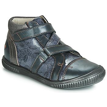 Čevlji  Deklice Visoke superge GBB RADEGONDE Modra