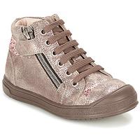 Čevlji  Deklice Visoke superge GBB DESTINY Taupe / Bronze