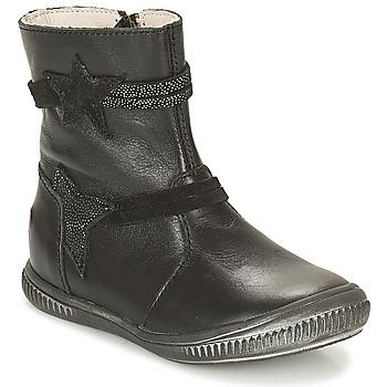 Čevlji  Deklice Polškornji GBB NOTTE Črna