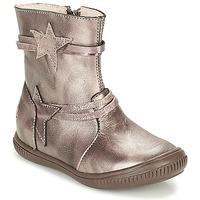 Čevlji  Deklice Polškornji GBB NOTTE Taupe / Bronze
