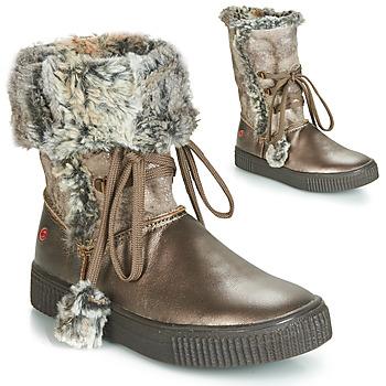 Čevlji  Deklice Mestni škornji    GBB NOUSTIK Bronze