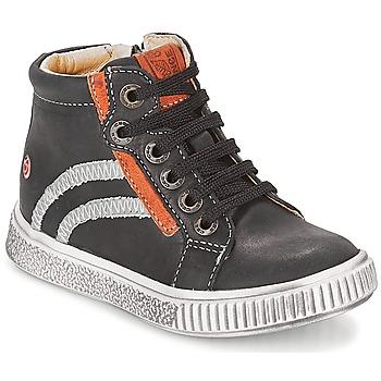 Čevlji  Dečki Visoke superge GBB NESTOR Črna
