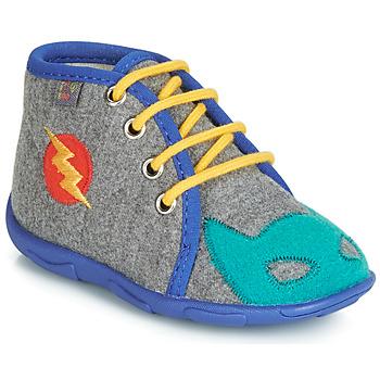 Čevlji  Dečki Nogavice GBB SUPER BOYS Siva / Modra