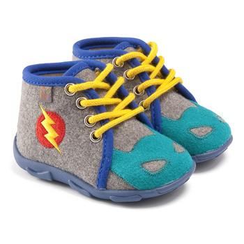 Čevlji  Dečki Nogavice GBB SUPER BOYS Ttx / Sivo-modra / Dtx / Amis