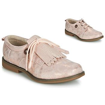 Čevlji  Deklice Čevlji Derby Catimini ROMY Vte / Rožnata / Powder / Dpf / Regola