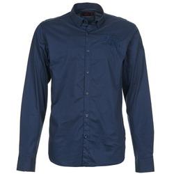 Oblačila Moški Srajce z dolgimi rokavi Les voiles de St Tropez ACOUPA Modra