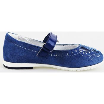 Čevlji  Deklice Balerinke Didiblu Balerinke AG487 Modra