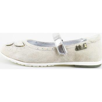 Čevlji  Deklice Balerinke Didiblu Balerinke AG489 Siva
