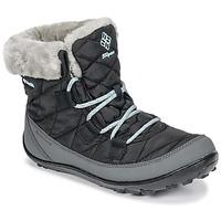 Čevlji  Otroci Škornji za sneg Columbia YOUTH MINX SHORTY OMNI-HEAT™ WATERPROOF Črna