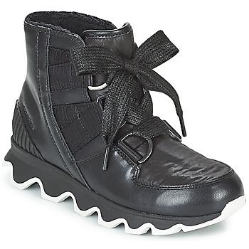 Čevlji  Ženske Škornji za sneg Sorel KINETIC™ SHORT LACE Črna