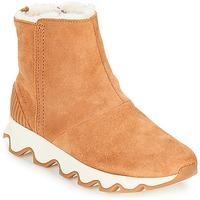 Čevlji  Ženske Škornji za sneg Sorel KINETIC™ SHORT Kamel