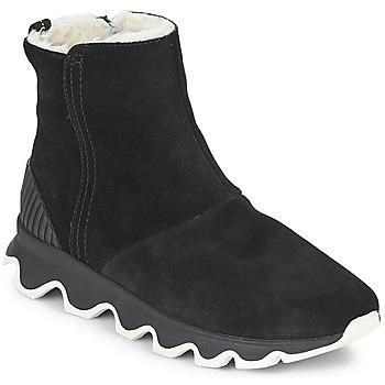 Čevlji  Ženske Škornji za sneg Sorel KINETIC™ SHORT Črna